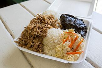 Kalua Pig Plate