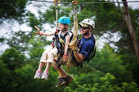 Ziplining in Hawaii 1