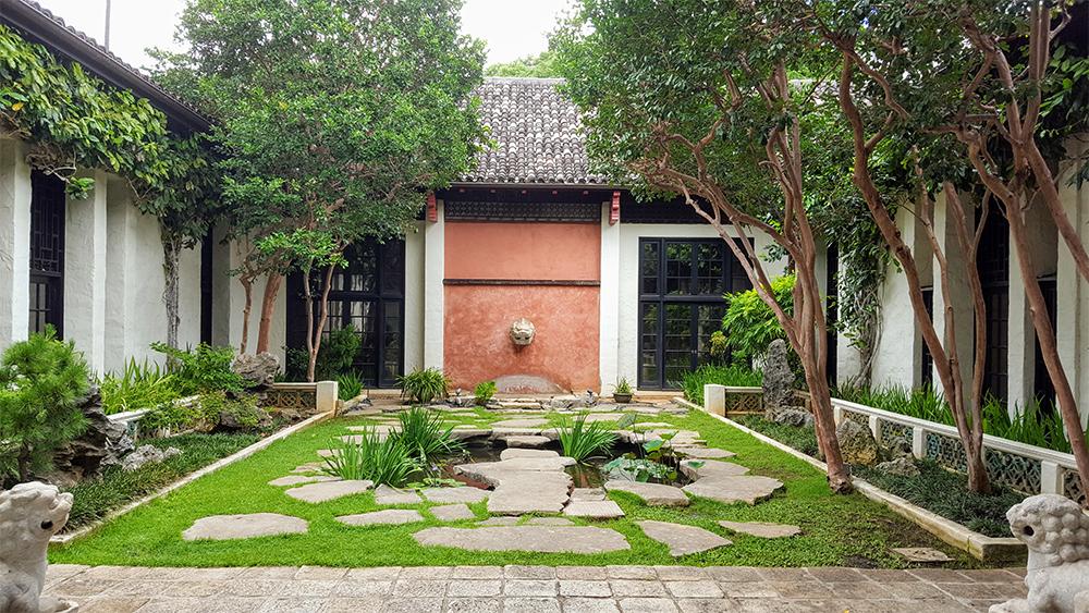 Chinese Courtyard at HoMA