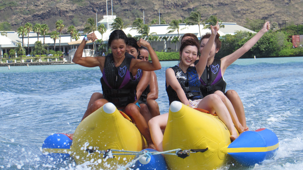 Hawaii Water Sports Banana Boat