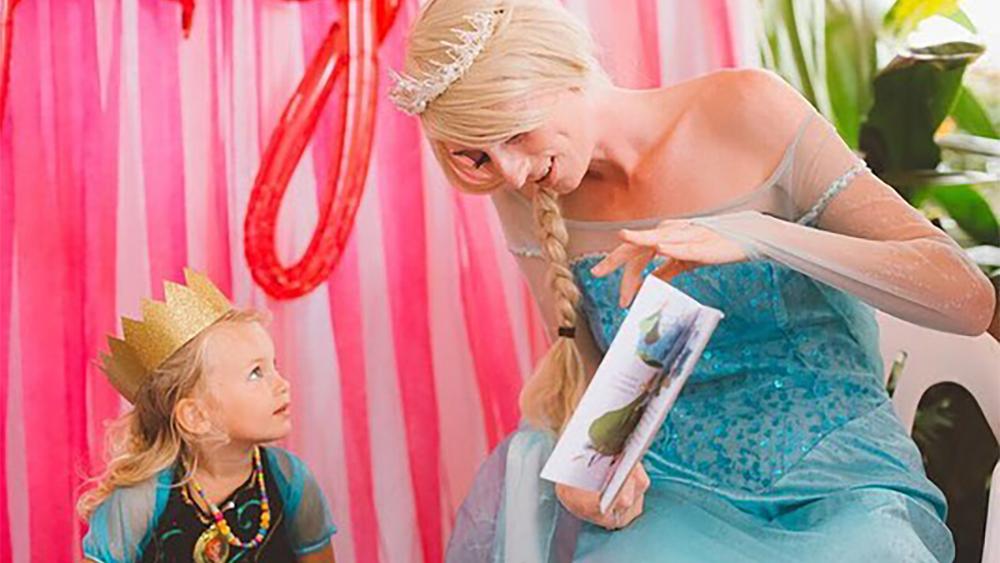 Imagination Reality Princess