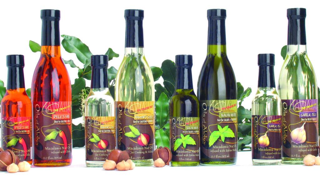 Oils of Aloha cooking oils