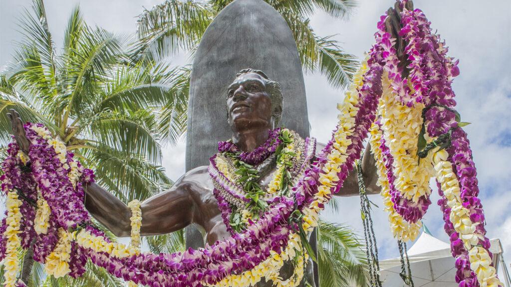 Duke Kahanamoku Statue