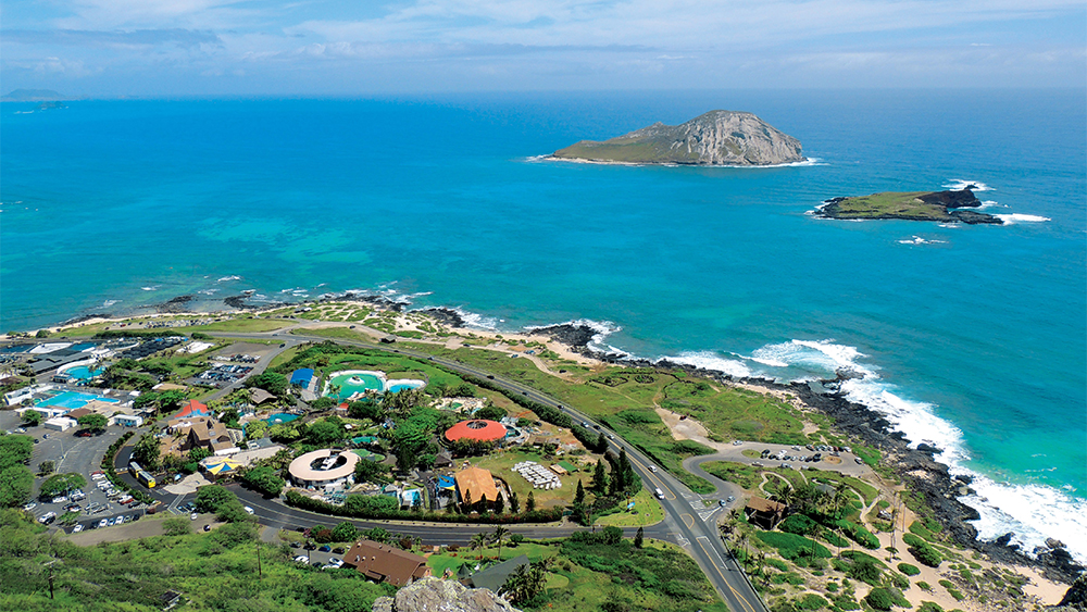 Sea Life Park Aerial