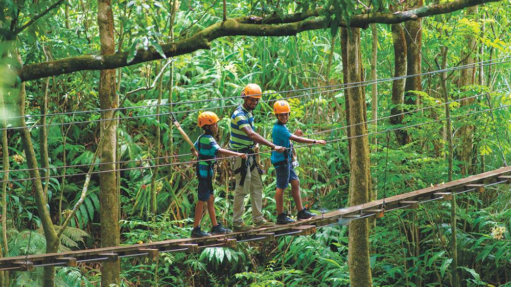 Botanical World Adventures offers lots of fun for the family