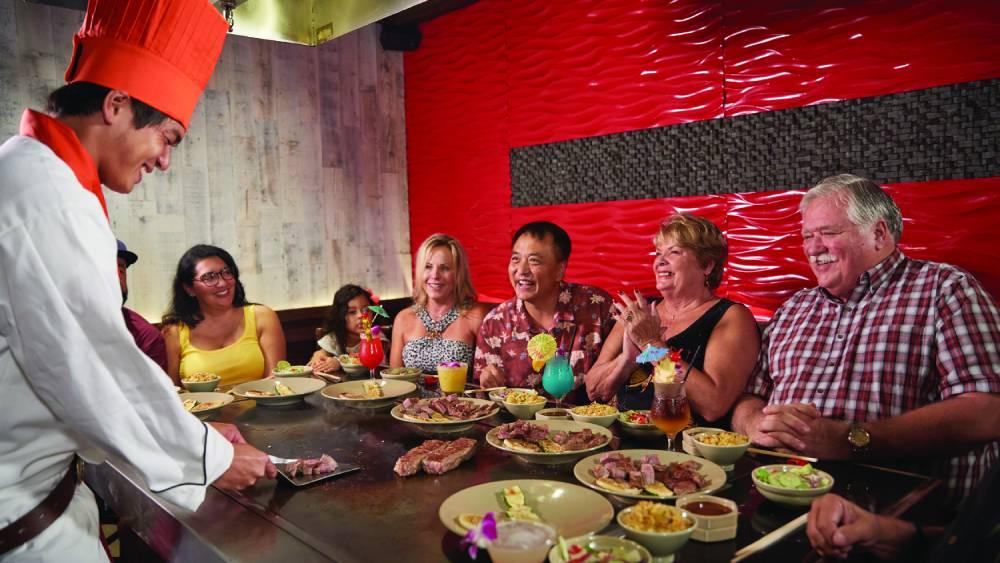 "Experience ""eatertainment"" at Rocky Japanese Steak Teppan Restaurant"