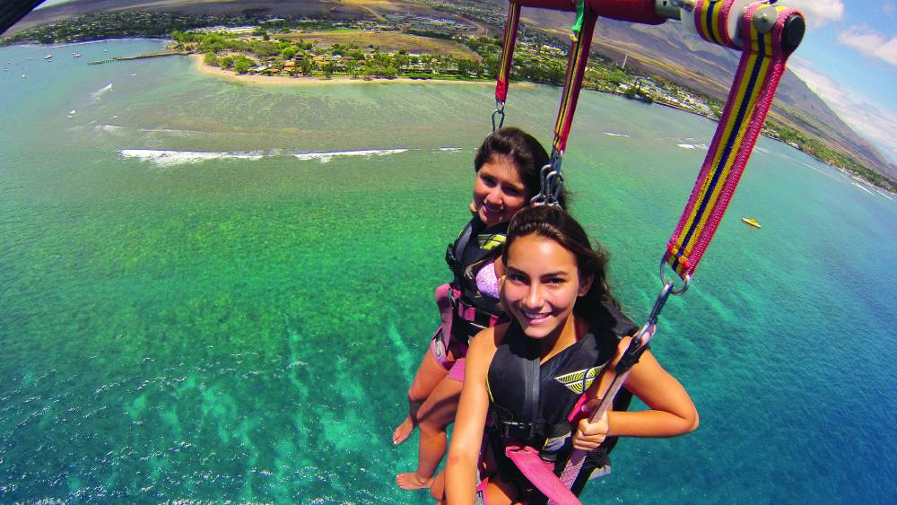 Soaring with West Maui Parasail