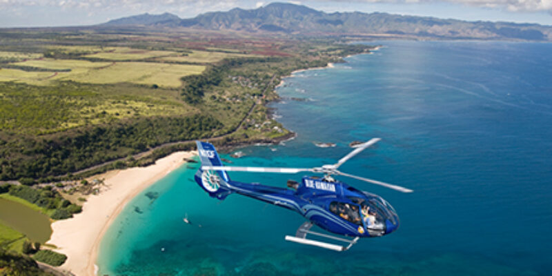Blue Hawaiian Helicopters Circle of Fire/Waterfall Tour