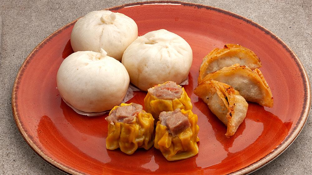 Spam dumplings