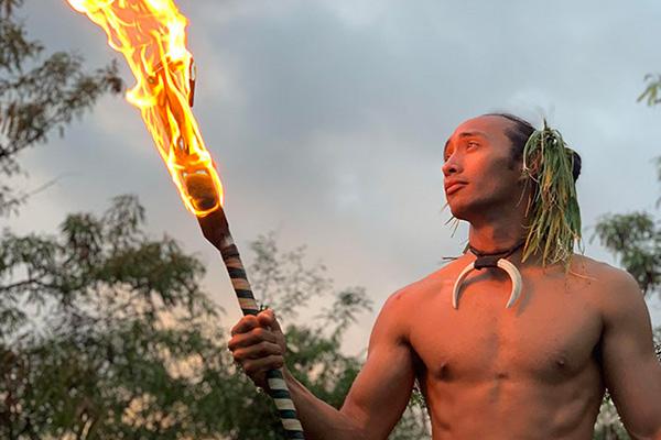 Polynesian Luau's Under the Stars: Oahi Entertainment - Big Island, Hawaii