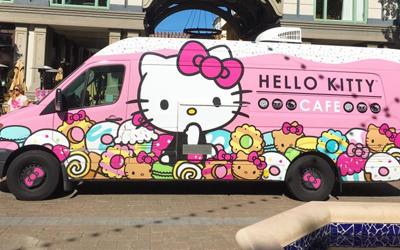Hello Kitty Cafe Truck Appearance - Oahu, Hawaii