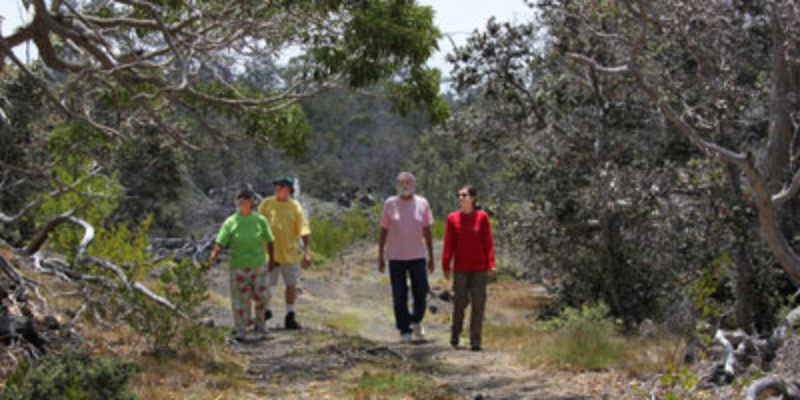 New Kona Trail Open In HVNP